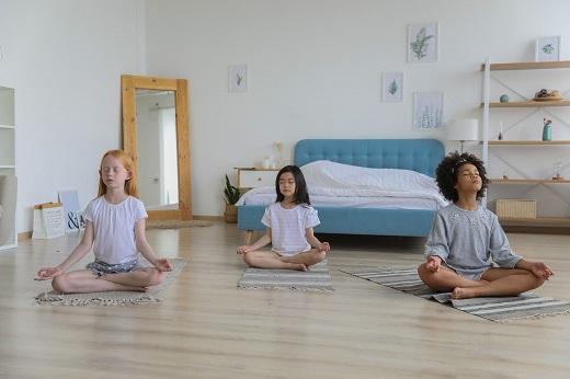Meditación para niños